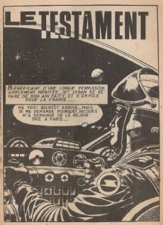 Extrait de Jet Logan (puis Jet) -51- Le testament