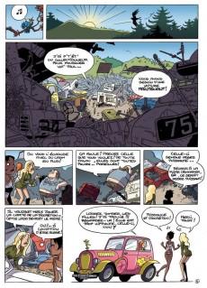 Extrait de Les 3 gendarmettes -1- Le serpent surenchère