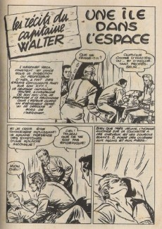 Extrait de Whipii ! (Panter Black, Whipee ! puis) -19- Capitaine Walter - Une île dans l'espace