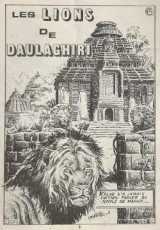 Extrait de Kalar -194- Les lions de Daulaghiri