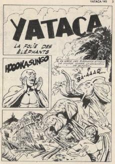 Extrait de Yataca (Fils-du-Soleil) -145- La folie des éléphants