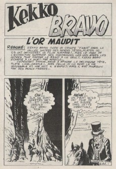 Extrait de El Bravo (Mon Journal) -44- L'or maudit