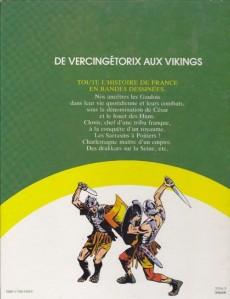 Extrait de Histoire de France en bandes dessinées (Intégrale) -1FL- De Vercingétorix aux Vikings