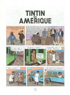Extrait de Tintin (Historique) -3C4- Tintin en Amérique