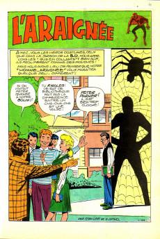 Extrait de Strange (Spécial Origines) -133bis- L'Araignée