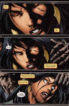 Extrait de Vampirella (2010) -6- Crown of worms part 6