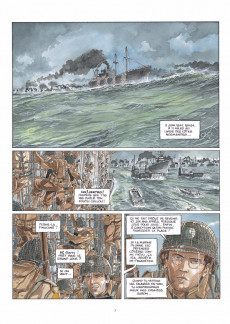 Extrait de Airborne 44 -3- Omaha Beach