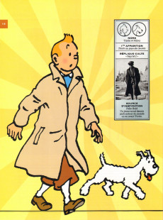 Extrait de Tintin - Divers -60- Les Personnages de Tintin dans l'Histoire