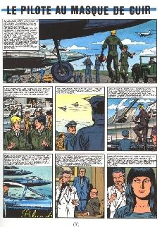 Extrait de Buck Danny -37a1983- Le pilote au masque de cuir