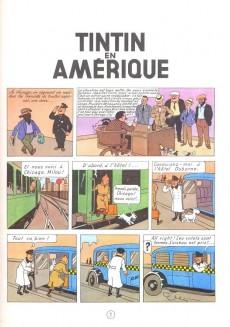Extrait de Tintin (Historique) -3C3bis- Tintin en Amérique