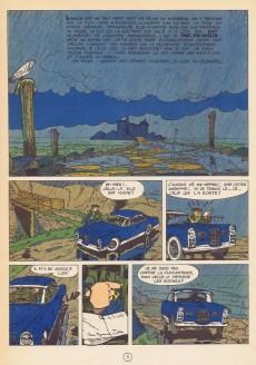 Extrait de Gil Jourdan -3a1967- La voiture immergée