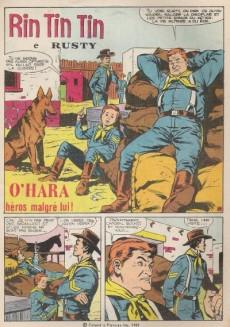 Extrait de Rin Tin Tin & Rusty (2e série) -140- O'Hara héros malgré lui !