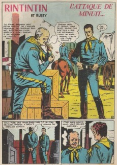 Extrait de Rin Tin Tin & Rusty (2e série) -139- L'attaque de minuit...