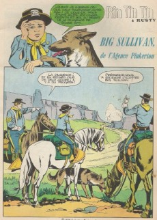 Extrait de Rin Tin Tin & Rusty (2e série) -107- Big sullivan de l'agence pinkerton