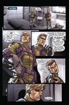 Extrait de Secret Warriors (2009) -5- Nick Fury : Agent of Nothing (Part 5)