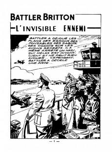 Extrait de Battler Britton (Imperia) -74- L'invisible ennemi