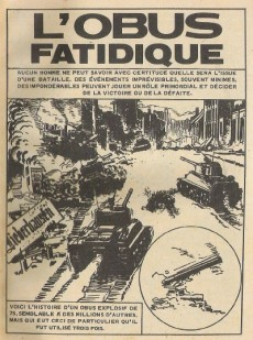 Extrait de Rafales (Edi Europ) -5- L'obus fatidique