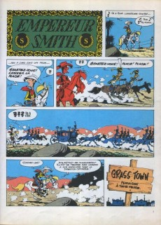 Extrait de Lucky Luke -45b86- L'Empereur Smith