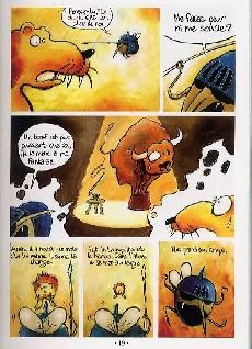Extrait de Poèmes en bandes dessinées - Jean de La Fontaine - Les Fables en BD