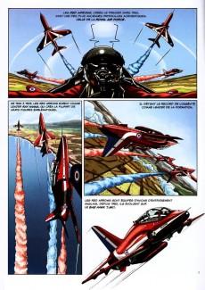 Extrait de Patrouilles aériennes acrobatiques -1- Volume 1