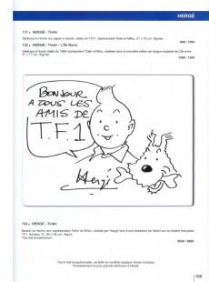 Extrait de (Catalogues) Ventes aux enchères - Divers - Millon & Cornette de Saint Cyr - La Bande dessinée - 21 mars 2009 - Bruxelles théâtre du Vaudeville et Paris Drouot Montaigne
