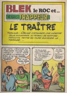 Extrait de Blek (Les albums du Grand) -514- Le traître