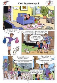 Extrait de Bob et Bobette (Les Juniors) -1- Un an tout rond