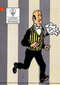 Extrait de Tintin - Divers -60'- Les Personnages de Tintin dans l'Histoire