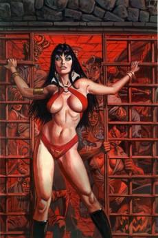 Extrait de Art of Vampirella (The)  - The art of Vampirella