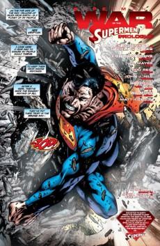 Extrait de Superman: New Krypton (2009) -FCBD- War of the Supermen #0 - Free Comic Book Day 2010