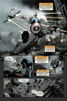 Extrait de Captain America (2005) -INT07- The Death of Captain America 2 : the Burden of Dreams