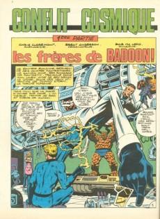 Extrait de X-Men (Les étranges) -2- Conflit cosmique
