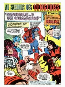 Extrait de Araignée (Une aventure de l') -10- Au secours des Vengeurs!
