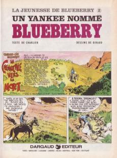 Extrait de Blueberry (La Jeunesse de) -2a1980- Un yankee nommé Blueberry
