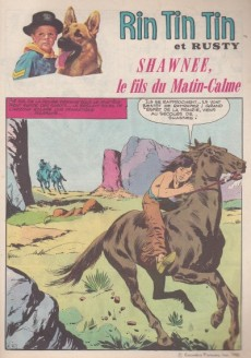 Extrait de Rin Tin Tin & Rusty (2e série) -164- Shawnee, le fils du Matin-Calme