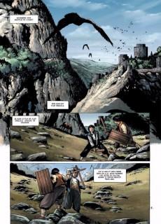 Extrait de Dracula - L'Ordre des dragons -1- L'Enfance d'un monstre