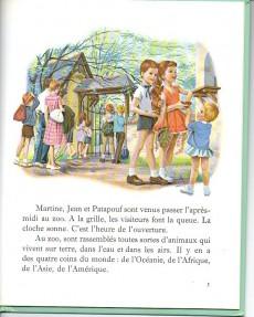 Extrait de Martine -13a- Martine au zoo