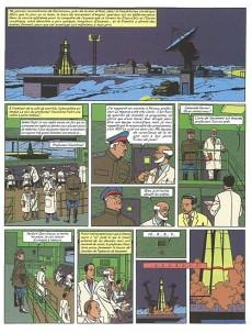 Extrait de Blake et Mortimer -14a01- La Machination Voronov