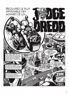 Extrait de Judge Dredd (Soleil) -INT1- Intégrale 01