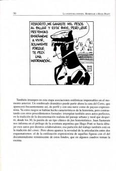 Extrait de (AUT) Pratt, Hugo (en espagnol) - La Aventura infinita. Homenaje a: Hugo Pratt
