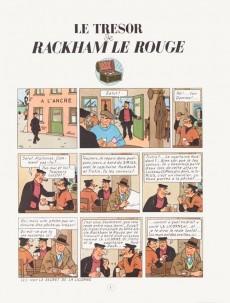 Extrait de Tintin (Historique) -12B24- Le trésor de Rackham Le Rouge