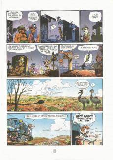 Extrait de Spirou et Fantasio -34a1988- Aventure en Australie