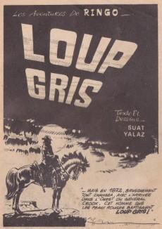 Extrait de Ringo (SFPI) -8- Loup gris