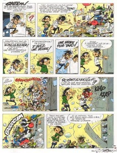Extrait de Gaston -12a1990- Le Gang des gaffeurs
