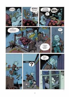 Extrait de Spirou et Fantasio -52- La face cachée du Z
