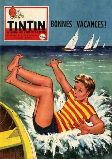Extrait de (Recueil) Tintin (Album du journal - Édition française) -37- Tintin album du journal