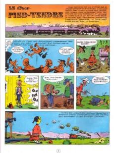 Extrait de Lucky Luke - La collection (Hachette 2011) -4- Le Pied-Tendre
