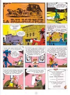 Extrait de Lucky Luke - La collection (Hachette 2011) -3- La diligence