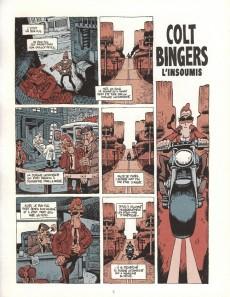 Extrait de Colt Bingers, l'insoumis - Tome INT