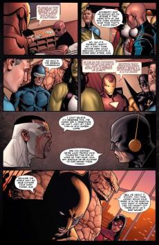 Extrait de Civil War (Marvel Comics - 2006) -INT- Civil War